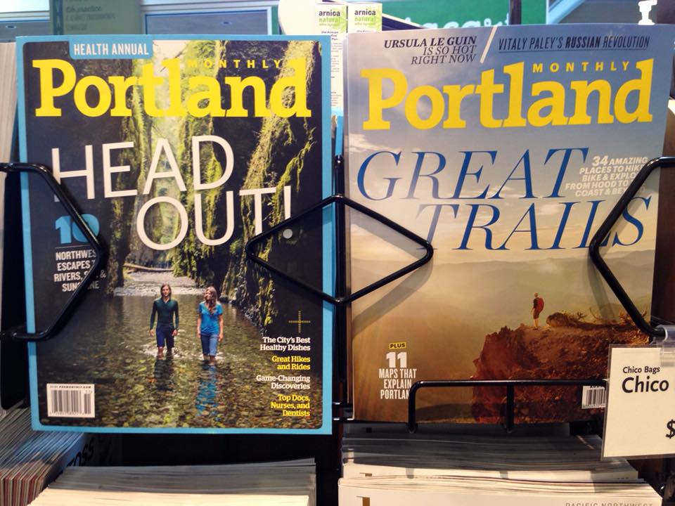 Portland Monthly Covers