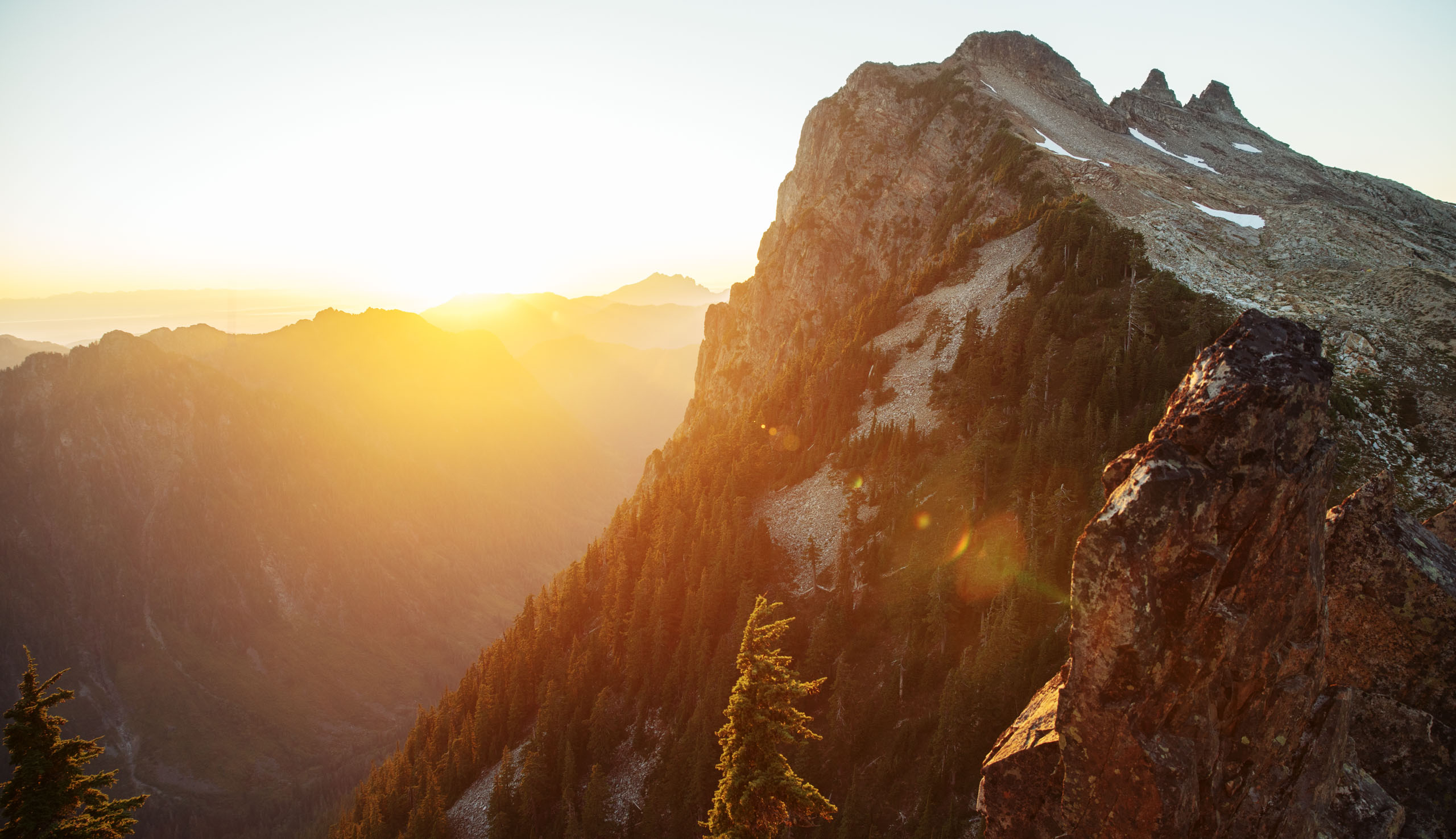 Sunrise on Gothic Basin
