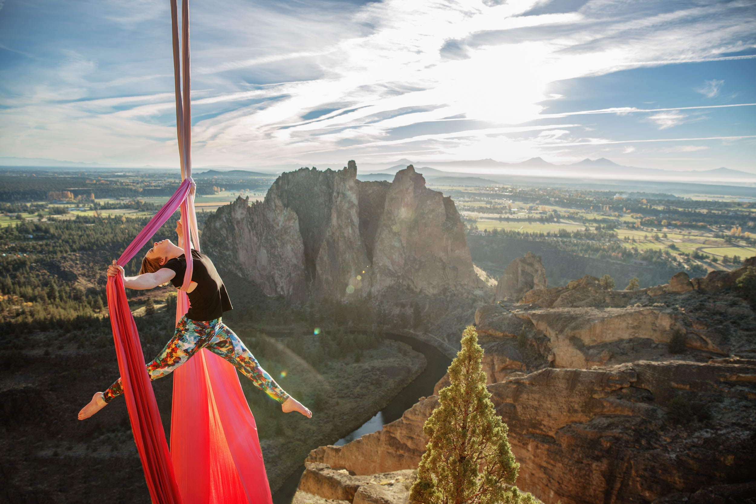 Aerial Silks at Smith Rock