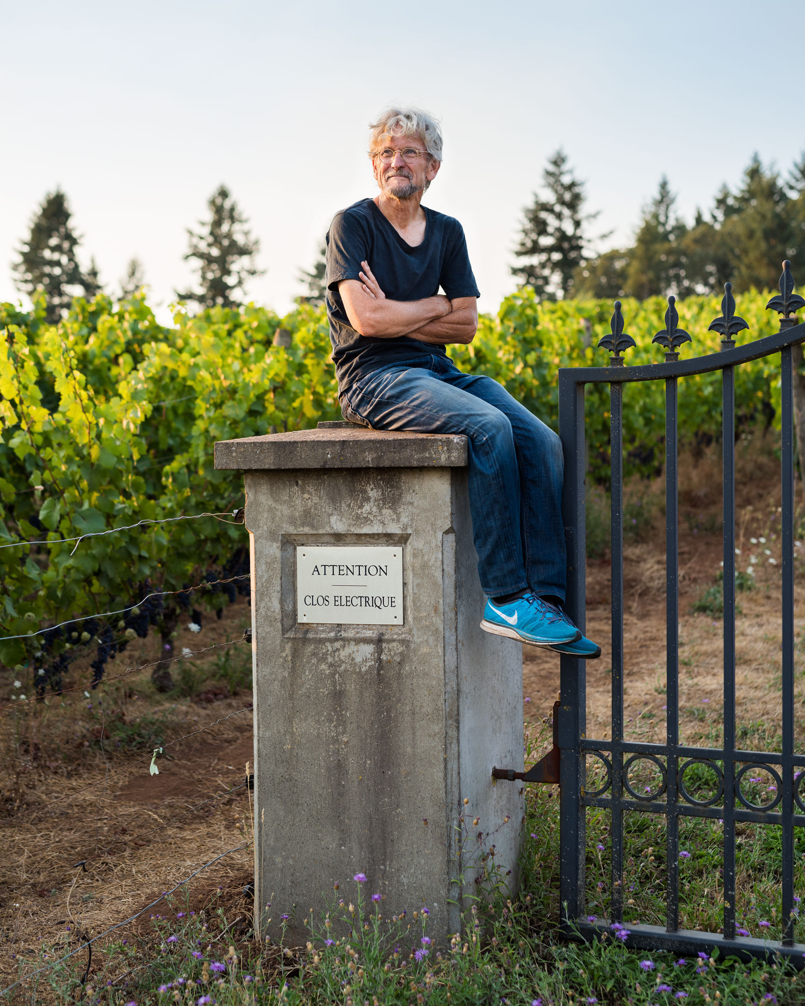 John Paul  Cameron Winery for Portland Monthly