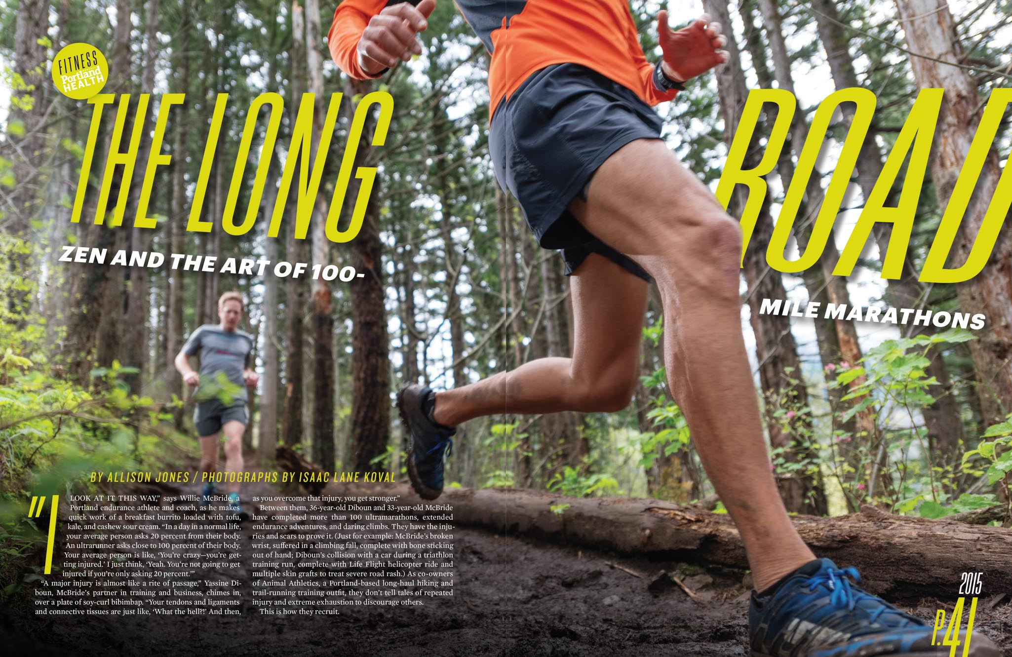 Animal Athletics in Portland Monthly