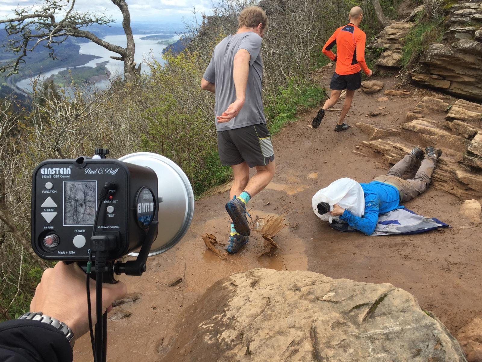 Shooting ultra runners for Portland Monthly