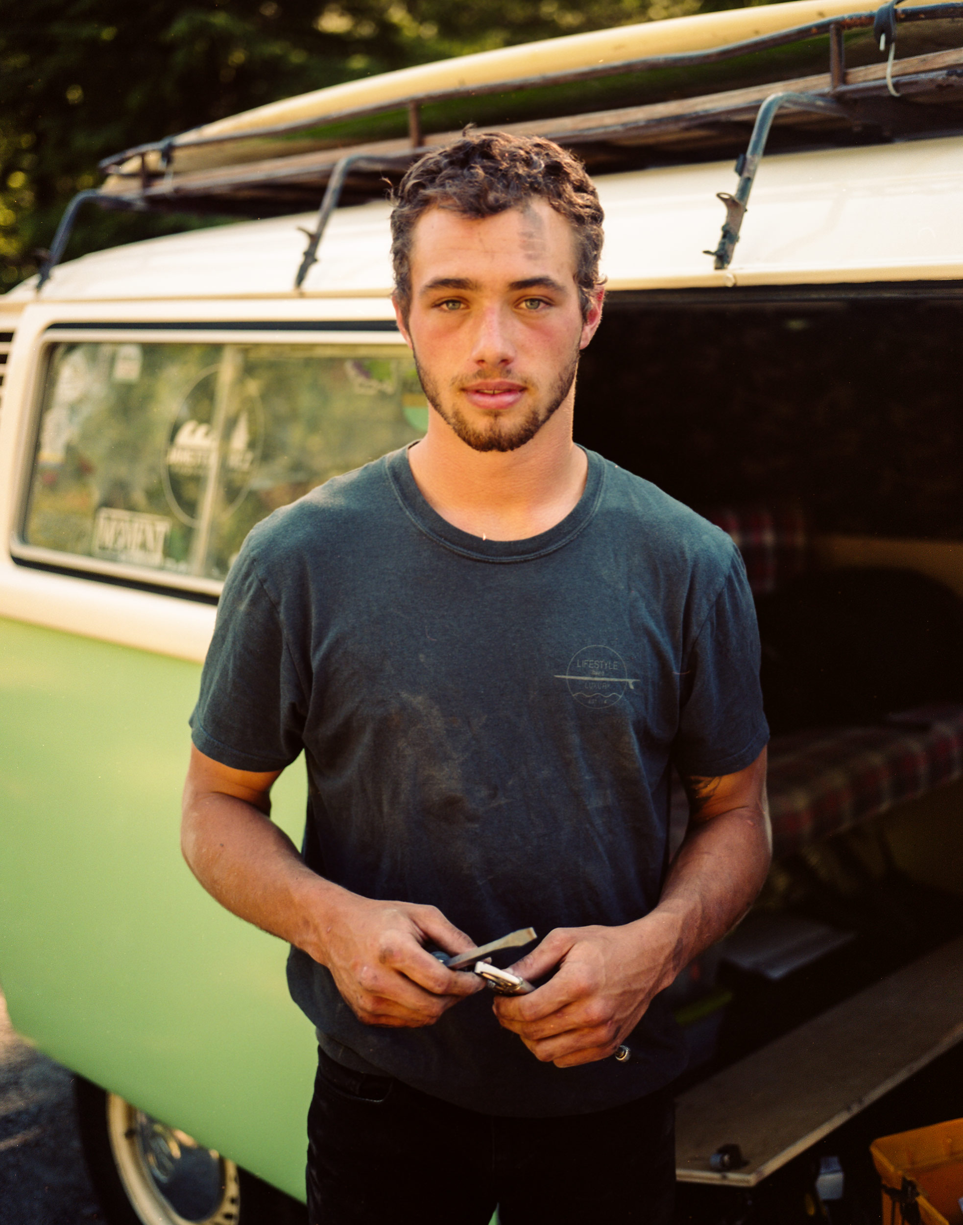 VW Bus Portrait