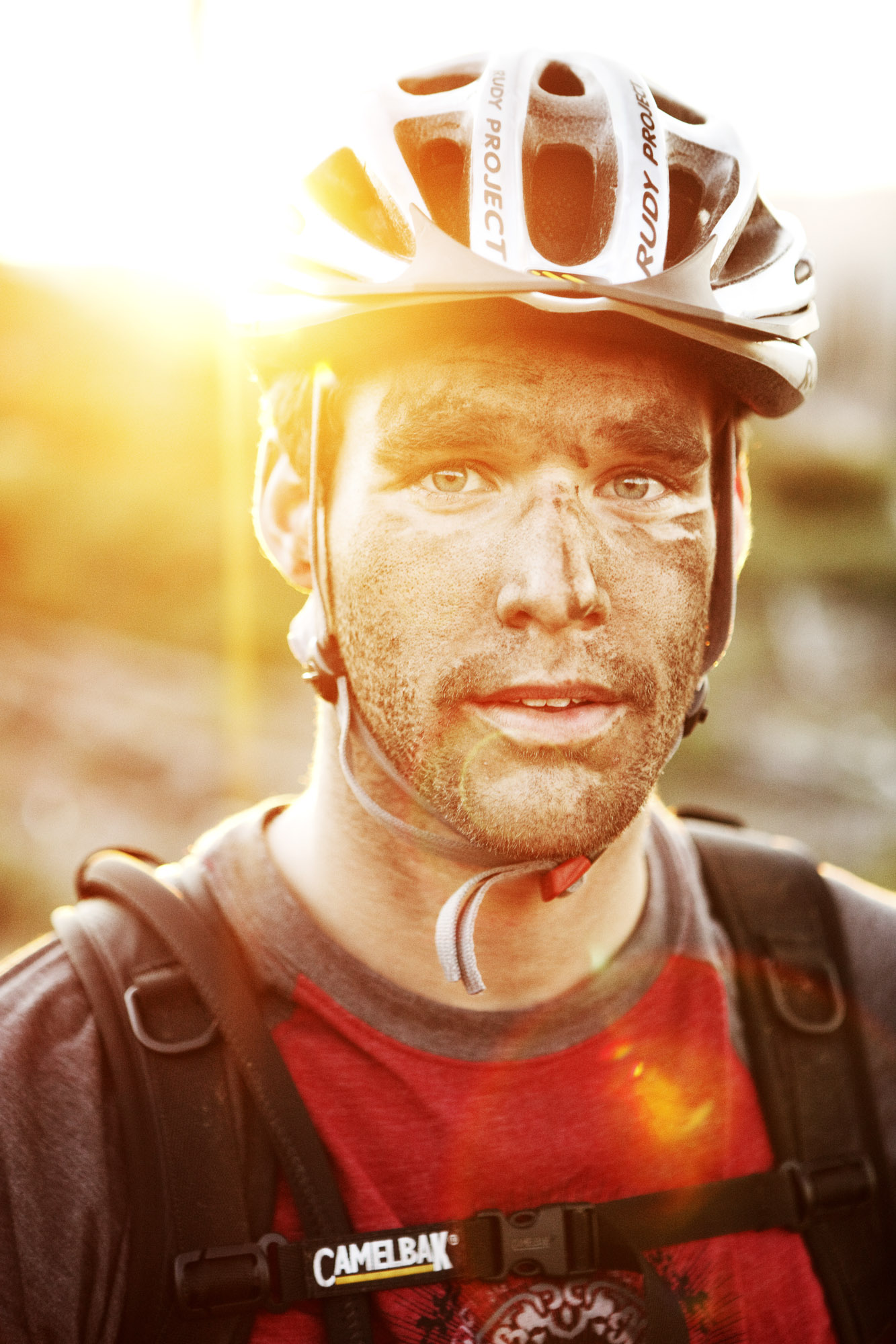 Portrait of a Mountain Biker