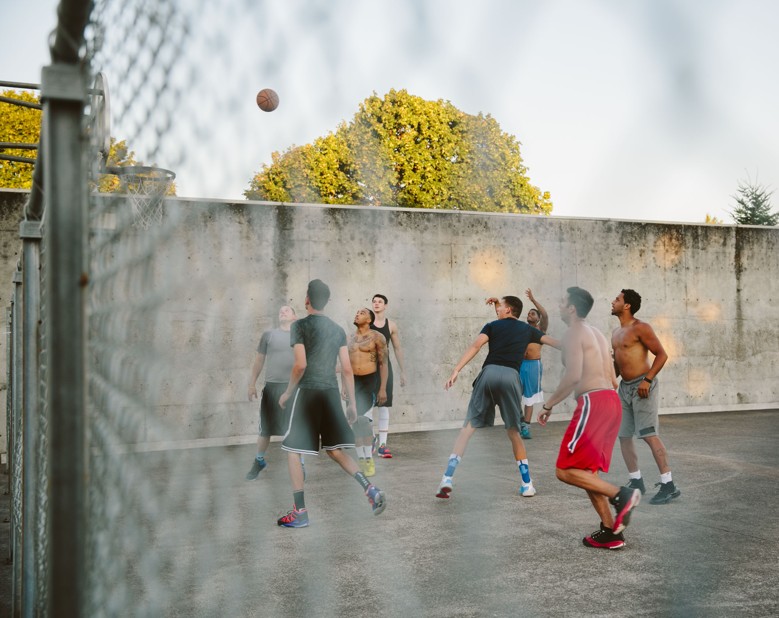A game of street ball