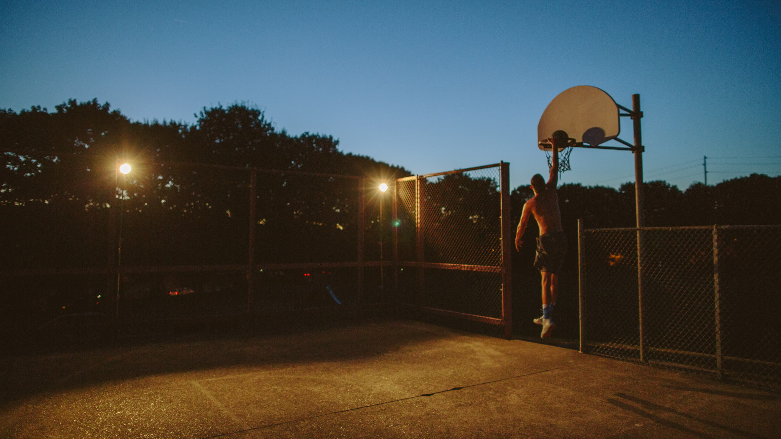 Solo Basketball Session