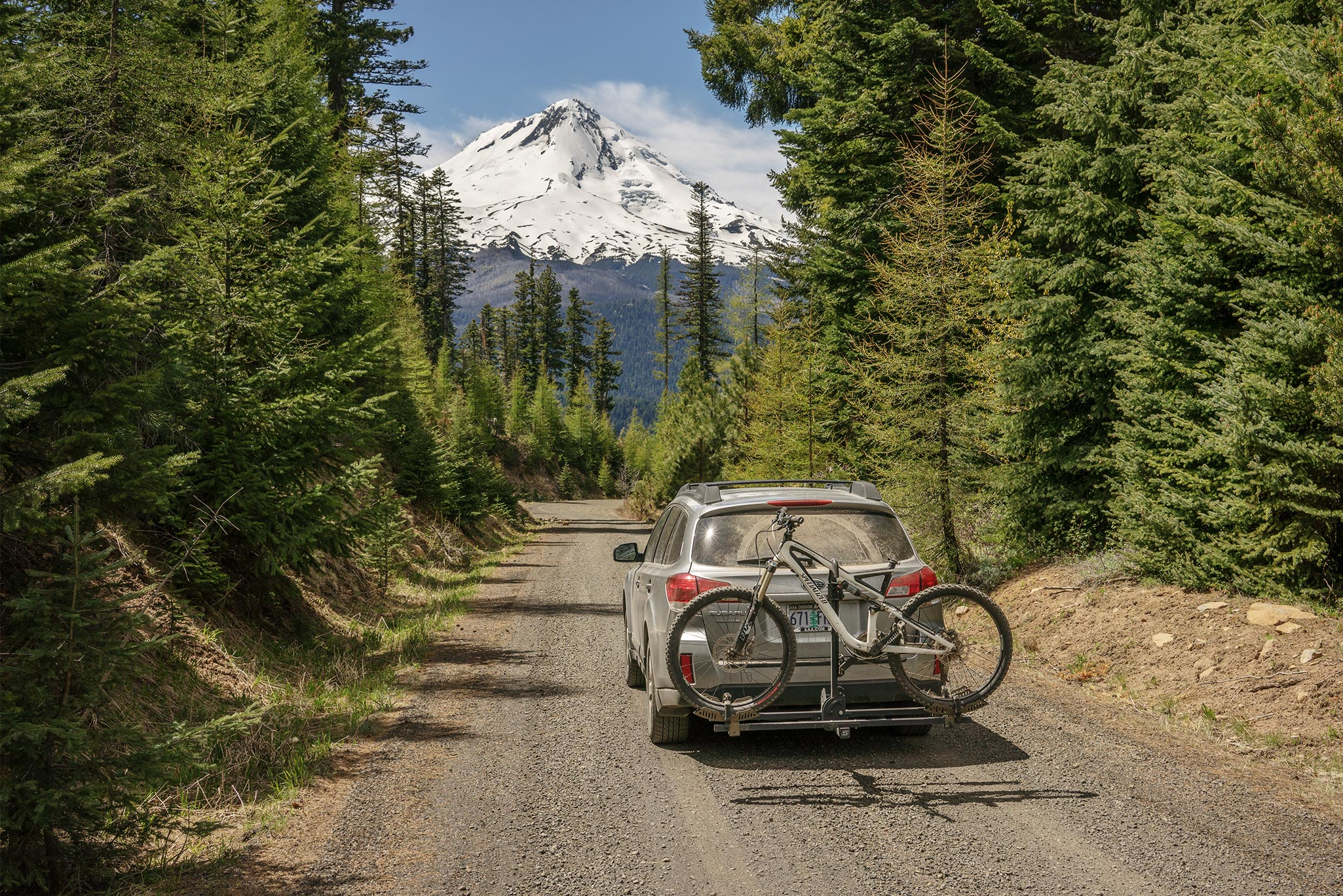 Road trip through Mt Hood National Forest