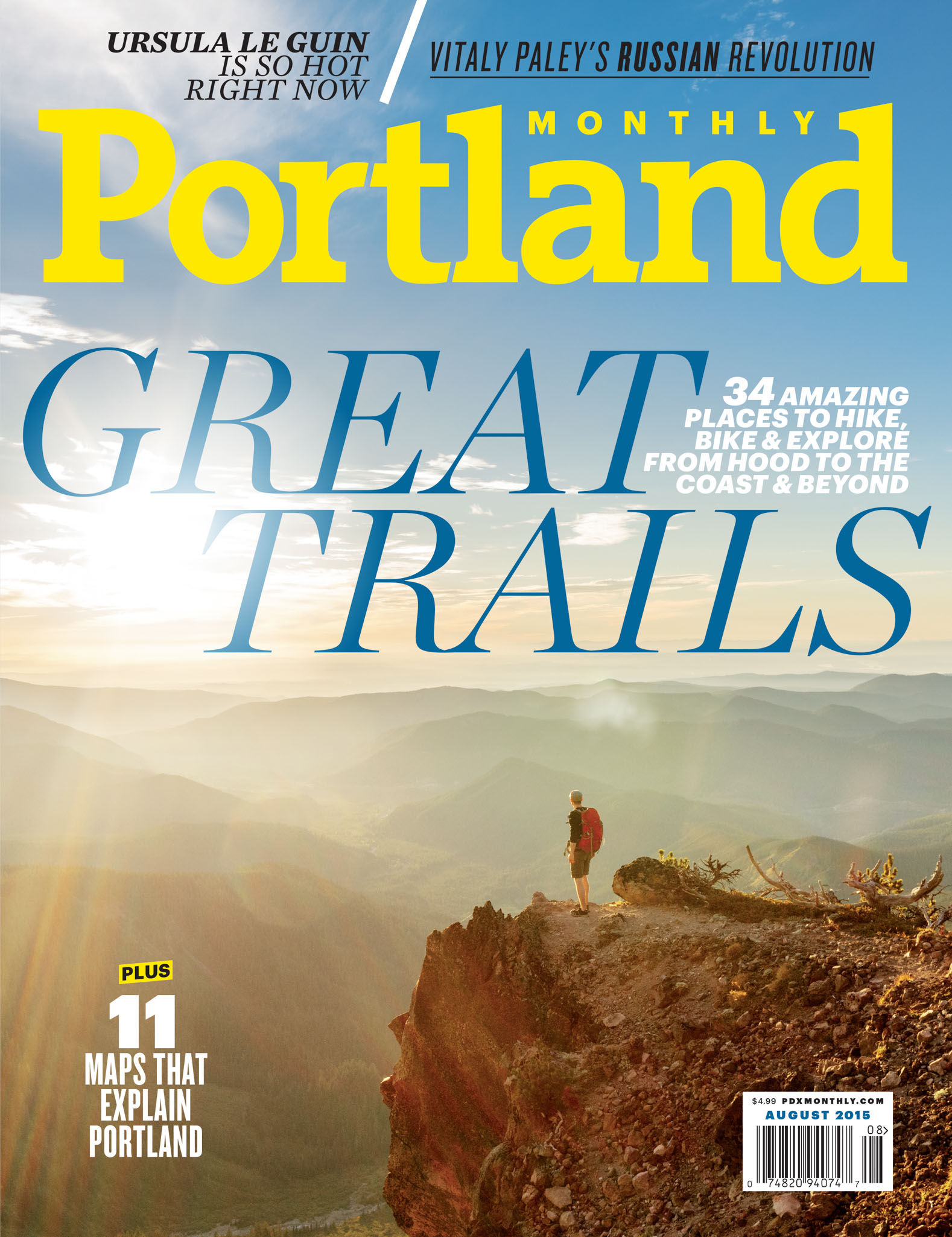 Portland Monthly Cover August 2015