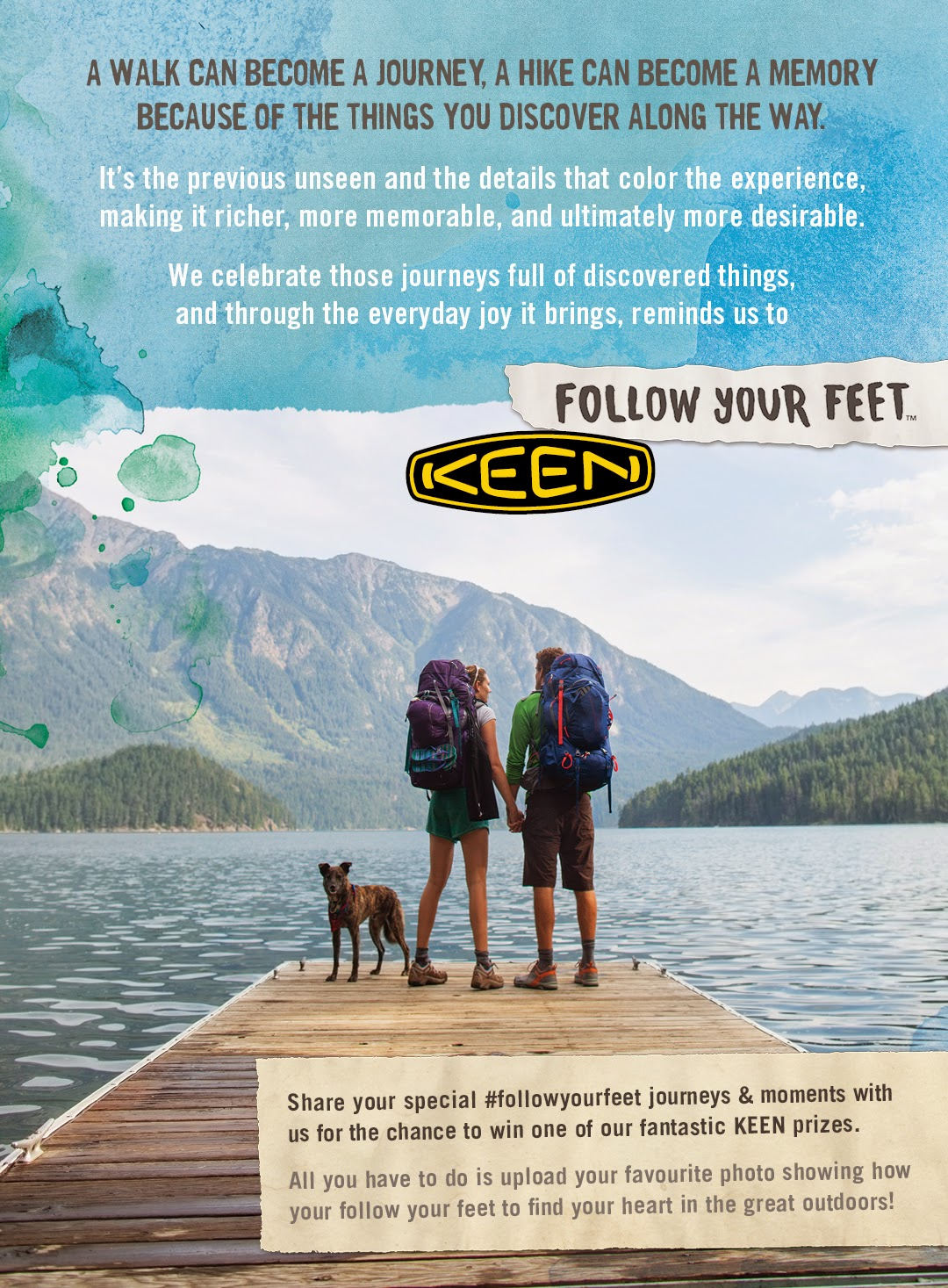 Tear for Keen Footwear